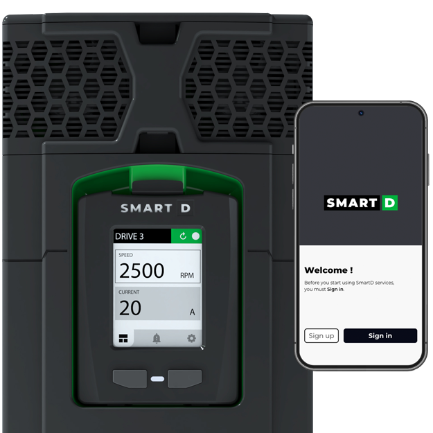 Smart Variable Frequency Drive MCC with App